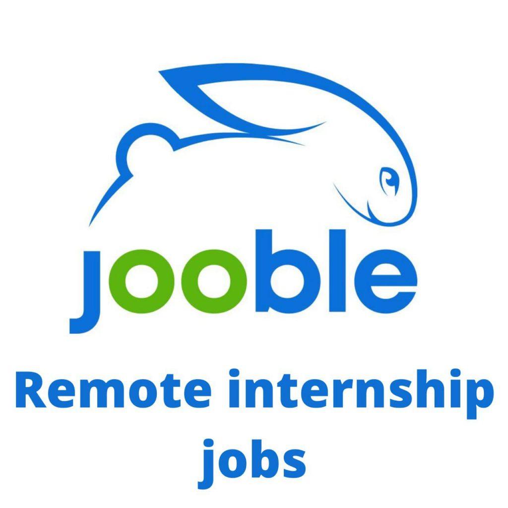 Remote Internship, Jooble partner